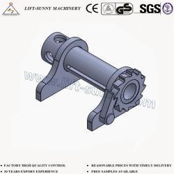 8427 de soldadura de montaje lateral soporte Winch-Leg malacate de amarre de carga