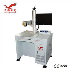 آلة وضع العلامات للأجزاء المعدنية 20 وات علامة الليزر الألياف آلة ليزر إنغرافينج دابنج ليزر CE