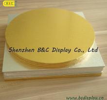 Het Document Coverd van de Folie van het aluminium de MDF Cake trommelt met SGS (b&c-K035)