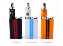 Kit de mod e cigarette avec EGO Un Mega Vt Atomizer Hot Sale Case Mod Kit à température contrôlée