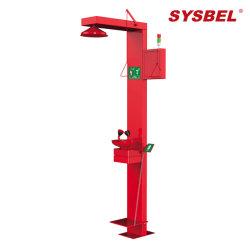 304ss, Vermelho, Anti-Freezing, chuveiro de emergência de aquecimento do cabo e os olhos (WG7054ER)
