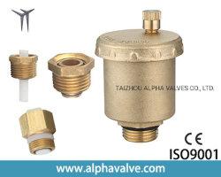 Calentamiento de la válvula de escape de latón de la válvula de escape de la válvula de purga automática de la cuchara grande de latón de escape superior automático de la liberación de aire de la válvula de ventilación de aire (una reducción de presión. 01925)