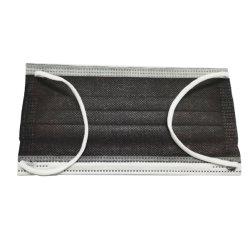 卸し売り黒いNon-Medical大人のマスクの価格50PCS/Boxの使い捨て可能な3ply顔の塵の防護マスク