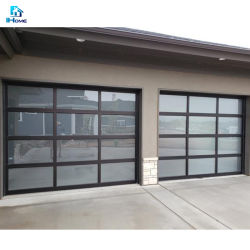 製造業者は費用を全体的に見るアルミニウムの開いたガレージを塗ることができる ドア(電話を開く)