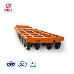 50 tonnes à 2 essieux Heavy Duty col de cygne/Drop Deck Lowbed/Lowboy de remorquage du chariot remorque/semi-remorque de transport poutre de pont