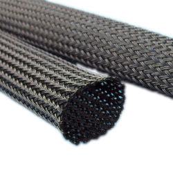 PPS gaine du câble tressé extensible pour Flame-Retardancy et résistance aux températures élevées