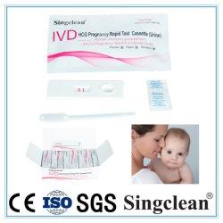Ce/ISO de Gediplomeerde Test Van uitstekende kwaliteit van de Zwangerschap HCG