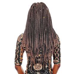 Commerce de gros Soft Dread Lock Twist déesse fausse Locs Tresses de crochet pour les femmes noires