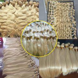سعر الواوسال الشعر الأشقر حزمة الشعر موجة الجسم الشعر البشري ل نساء صاعدات