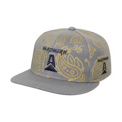 Moda acrílico personalizado estilo era el deporte Baseball Cap Snapback con bordados