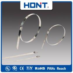 Heavy Duty 4.6*200 kogelslot roestvrijstalen kabelbinder met CE