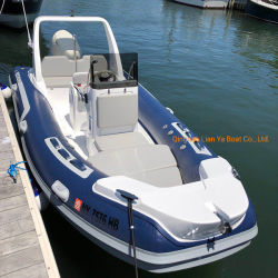 Liya 5,2m Luxus starre Hull Aufblasbare Boote Motor Speed Angeln Sport Rib Boote kaufen Rib 520