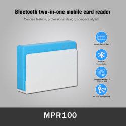 EMV Bluetooth Smart IC Chip Magnetic Stripe Card Reader Writer Voor mobiel (MPR100)