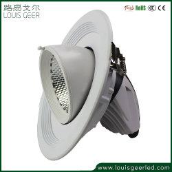 Luminaire encastré réglable réglable LED de plafond en aluminium vers le bas Ajour Spot LED IP20 lumière