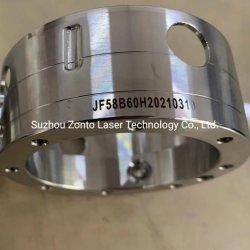 デジタル製品陽極酸化処理アルミニウムマークブラック M6 2ns 4ns 6ns Mopa ファイバーレーザーマーキングマシンバーコードおよび QR コード ステンレススチールシートエッチング