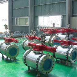 Soldadura resistente al calor de RF de Superposición/FF/Rtj/Bw/eléctrica hidráulica/neumática/motorizados/actuador de válvula de bola fija