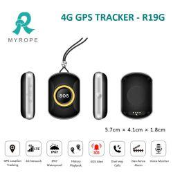 4G GPS Verfolger für Kind/Kursteilnehmer/Haustier/die alten Leute GPS, die PAS-Tasten-langfristige Batterie-persönlichen Verfolger aufspüren