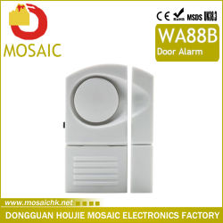 Tür-Fenster tragen Warnungs-Tür-Fühler-Warnung der Magnet-Warnungs-inländisches Wertpapier-super laute Sirene-130dB ein