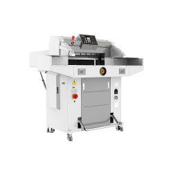 520mm 670mm hydraulische Programm-Guillotine-Papier-Ausschnitt-Maschine