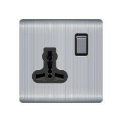Methoden-Multifunktionswand-elektrische Schalter-Kontaktbuchsen des Edelstahl-1