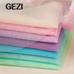 Gezi knitted 컬러 패브릭 폴리에스테르 나일론 스판덱스 메시 패브릭 나일론 Mosquito Window Screen Netting용 패브릭 넷