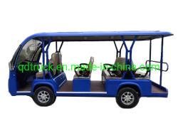 11-14 مقاعد حافلة كهربائية / كهربائية عربة غولف عربة ميني باص مشاهدة معالم السيارة
