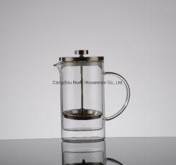 最もよく標準的なガラスフランス人の出版物の鍋のコーヒーメーカー