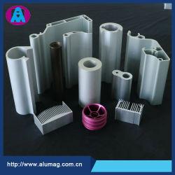 Praça industriais de alumínio anodizado cor/Perfil de extrusão de liga de alumínio extrudido fábrica OEM PREÇO DE usinagem CNC