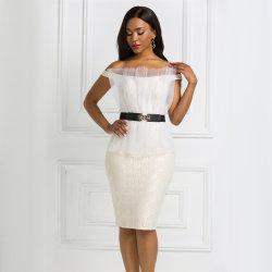 새로운 디자인 여성 파티 드레스 의류 도매 Desinger 여성 의류 여름의 우아한 저녁 아름다운 브리데스하녀 드레스 걸 베스티도스