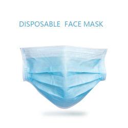 Maschera di protezione non tessuta chirurgica medica protettiva a gettare all'ingrosso di sicurezza 3-Ply in azione