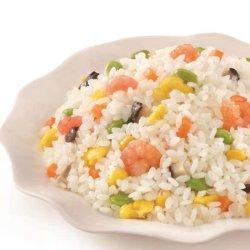 Gefrorener Shrimp-Gebratener Reis, Chinesische Küche