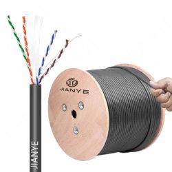 كبل UTP (كبل مزدوج مجدول غير محمي) معتمد من CE (قواعد CE) معتمد من الفئة Cat 5e Cat5e Ethernet كبل الشبكة