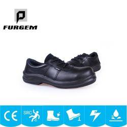 L'isolement coupe basse PU Les chaussures de sécurité industrielle étanche d'injection