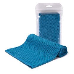 Microfibra personalizado Ginásio Toalha de Refrigeração para fitness e absorção do suor Toalha de Refrigeração