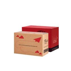 مسيكة عادة طباعة 4 لون يغضّن يشحن علبة صندوق