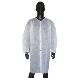 Uniforme non tessuta a gettare della stanza di pulizia del cappotto del laboratorio medico