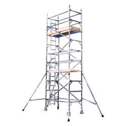 7.5m (0.75*2m) zuverlässige sich schnell bewegende Gebäude-Schutz-Sperren-Selbst-Kletterndes Baugerüst