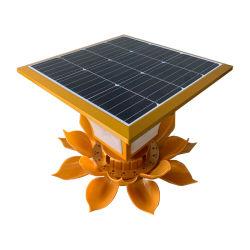 1 스테인리스 투광램프 에너지에서 센서 정원 수영풀 Solars 적외선 플러드를 가진 1개의 옥외 LED 통합 태양 가로등 전부에서 120W 전부