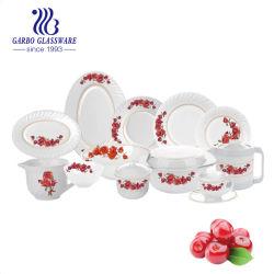 Цветные стеклянные пластины блюдо для варки Opal посудой пластических масс (путем23LHP85-T2)