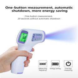 Цифровая Non-Contact инфракрасного термометра дома медицинского использования лоб термометр IR температуры тела с помощью дозатора сертификат CE