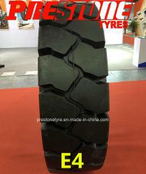 중국 산업 항에서는 터미널로 타이어 E4 18.00-25 16.00-25 를 사용합니다 크레인 포크 트랙 항만