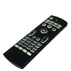 人間の特徴をもつTVボックスキーボード空気マウスMx3によってバックライトを当てられるタッチパッドのリモート・コントロール航空管制2.4GHzの無線電信