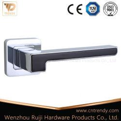 Покрытие черного цвета цинкового сплава рукоятка рычага двери на двери (Z6208)