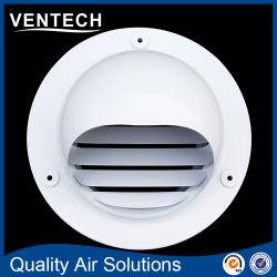 Bille en aluminium de ventilation de l'air Weather Proof ailette Cap