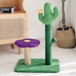 Châssis d'escalade Cactus Flower cat cat châssis d'escalade la litière pour chat chat un chat de l'arbre plate-forme de saut Tongtian pilier Cat Toy