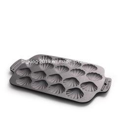 Carcasa de fundición de molde de torta de bandeja para hornear.