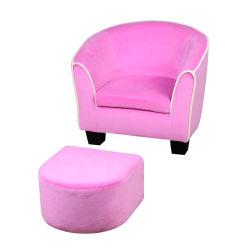 Europa-Art scherzt Wanne-Stuhl mit Schemel/Kind-Sofa für Wohnzimmer-Möbel