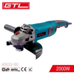 2000W 전동 공구 고속 범용 180mm 앵글 그라인더(AG033-180)