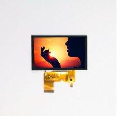 (120.7*76.3*3.25) schermo dell'affissione a cristalli liquidi dell'interfaccia di RGB di 5.0 pollici (800*RGB*480), visualizzazione dell'affissione a cristalli liquidi, modulo dell'affissione a cristalli liquidi
