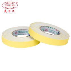 Espuma de goma resistente al agua a doble cara cinta de espuma de goma EVA